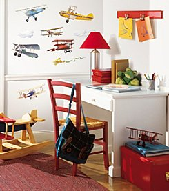 RoomMates Vintage Planes Peel & Stick Wall Decals