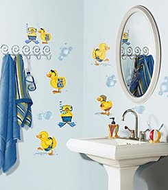 RoomMates Bubble Bath P&S Wall Decals