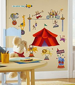 RoomMates Big Top Circus P&S Wall Decals