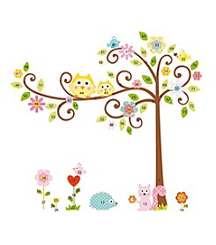 RoomMates Scroll Tree P&S Mega-Pack Wall Decals
