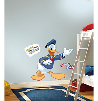 """RoomMates Disney® Mickey and Friends """"Donald Duck"""" P & S"""