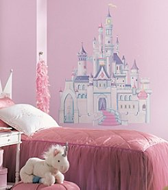 RoomMates Disney® Princess Castle Peel & Stick Giant Wall Decal