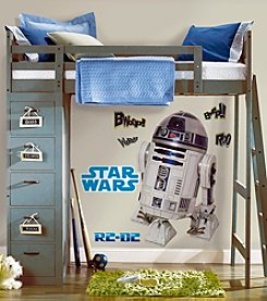 RoomMates Wall Decals Star Wars™ Classic R2D2 Peel & Stick Giant Wall Decal