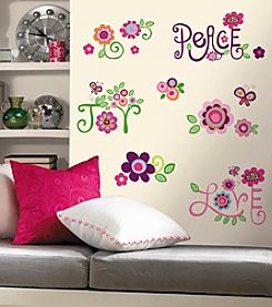 RoomMates Love, Joy, Peace Peel & Stick Wall Decals