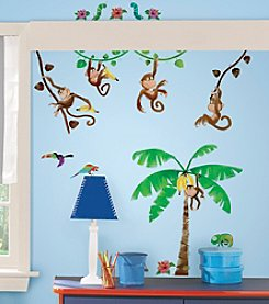RoomMates Monkey Business Peel & Stick Wall Decals