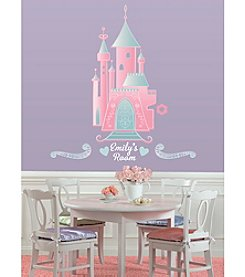 RoomMates Disney® Princess Castle Peel & Stick Giant Wall Decal with Personalization