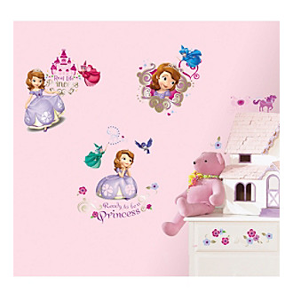 RoomMates Wall Decals Sofia the First Peel & Stick Wall Deca