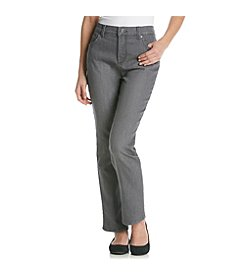 Gloria Vanderbilt® Petites' Amanda Classic Fit Washed Color Denim Jeans