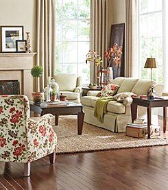 Emeraldcraft Pocomo Living Room Collection