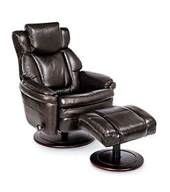 Barcalounger Eclipse II Pedestal Chair and Ottoman