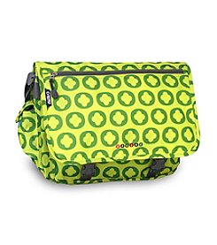 J World® Lime Logo Terry Messenger Bag
