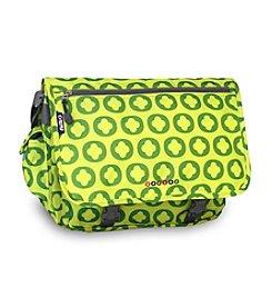 J World® Lime Logo Terry Messenger Bag