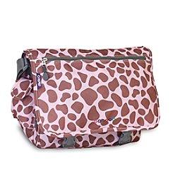 J World® Pink Zulu Terry Messenger Bag
