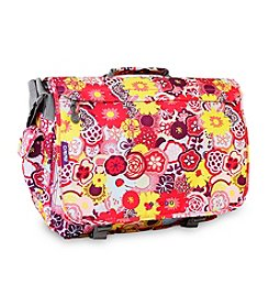 J World® Poppy Pansy Thomas Laptop Messenger Bag