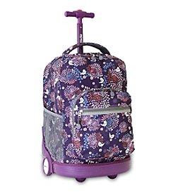 J World® Baby Birdy Sunrise Rolling Backpack