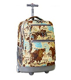 J World® Atlas Sundance Rolling Laptop Backpack