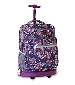 J World® Baby Birdy Sundance Rolling Laptop Backpack
