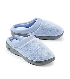 Isotoner® Signature Satin Microterry Clog Slippers