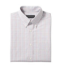 Kenneth Roberts Platinum® Men's Check Buttondown Collar Dress Shirt