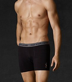 Polo Ralph Lauren® Men's Black Boxer Briefs