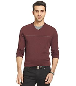 Van Heusen® Men's Long Sleeve Jasper VeeDoubler Knit Shirt