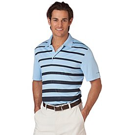 Chaps® Men's Big & Tall Tournament Stripe Polo Shirt