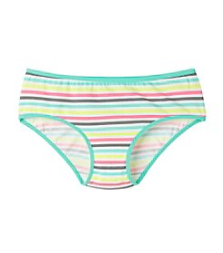 Maidenform® Girls' 4-14 Rainbow Striped Hipster