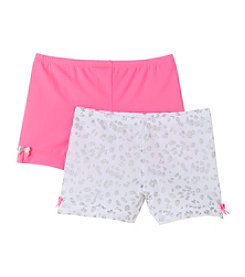 Maidenform® Girls' Pink/White Leopard Print Playground Pal Undergarment