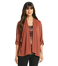Notations® Solid Layered Look Roll Tab Top
