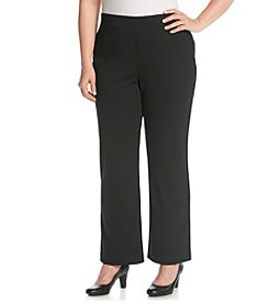 Studio Works® Plus Size Ponte Pant