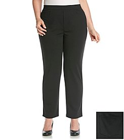 Studio Works® Plus Size Casual Ponte Pant