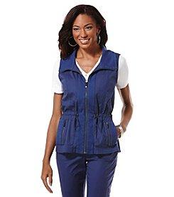Rafaella® Cinch Waist Vest