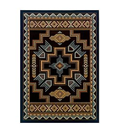 United Weavers Designer Contours Native Canvas Accent Rug