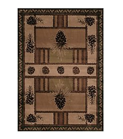 United Weavers Designer Contours Pine Barrens Accent Rug