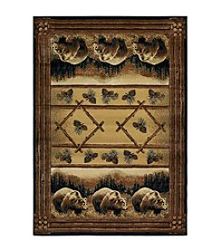 United Weavers Hautman Grizzly Pines Accent Rug