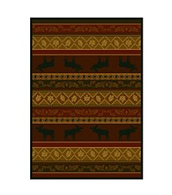 United Weavers Marshfield Moose Heatset Olefin Accent Rug