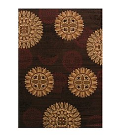 United Weavers Affinity Sundial Brown Rug