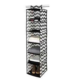 The Macbeth Collection® Chevron Printed Faux Jute 6-Shelf Organizer