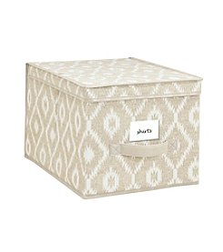 The Macbeth Collection® India Faux Jute Storage Box