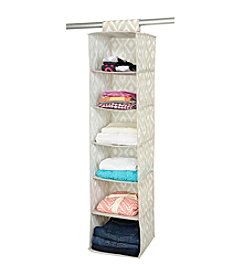 The Macbeth Collection® India Faux Jute 6-Shelf Organizer
