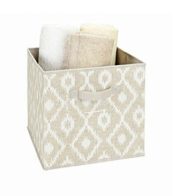 The Macbeth Collection® India Faux Jute Storage Box Cube