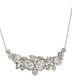 1928® Bridal Silvertone Genuine Swarovski Crystal Necklace