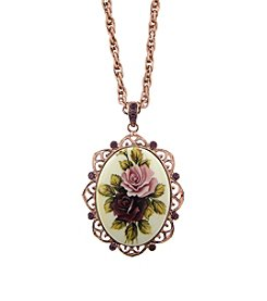 1928® Manor House Victorian Pendant Necklace