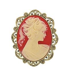 1928® Vintage Elizabeth Cameo Brooch