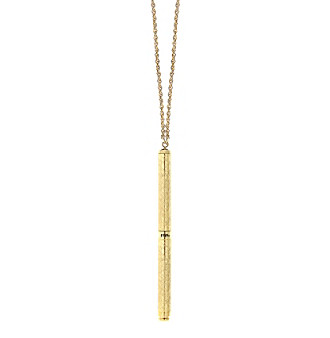 1928® Jewelry Vintage Inspired Goldtone Pen Necklace