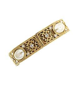 1928® Her Majesties Pearl Stretch Bracelet