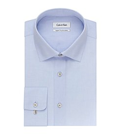 Calvin Klein Men's Regular Fit Long Sleeve Dress Shirt