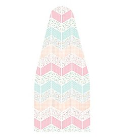 Laura Ashley® Pastel Zigzag Ironing Board Cover