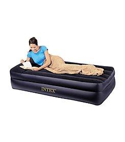 Intex Twin Pillow Rest Raised Air Mattress