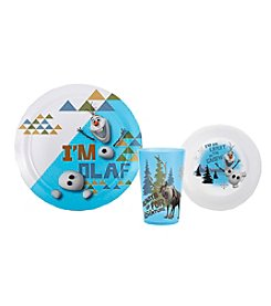 Disney™ Frozen Olaf & Sven 3-pc. Dinnerware Set by Zak Designs®